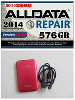Wholesale alldata hdd gb alldata software gb All data Auto Repair Software data fit win7 win8 for all cars and trucks