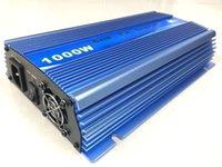 Wholesale 1000W Blue Color solar grid tie inverter AC110V DC10 V MPPT pure sine wave power inverter