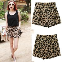 Wholesale women shorts Brand New Fashion Quality Lady Classic Leopard Print Hot Sell Summer Sexy Shorts Sizes Drop Shipping SL023