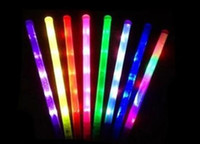 Wholesale High Quality Plastic Glo stick cm lightsaber Multicolor Single color Led glo sticks Light sword