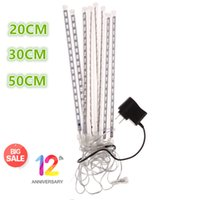 anniversary tube - DH gate th Anniversary CM CM CM Meteor Shower Rain Tubes AC100 V LED Christmas Lights Wedding Party Garden Xmas String Light