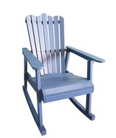 antique rocking chair styles - Outdoor Furniture Rocking Chair Wood Colors American Country Style Antique Vintage Adult Recliner Large Garden Rocking Chair