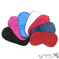 best sleeping pads - Best Promotion Pure Silk Soft Sleeping Eye Mask Padded Shade Cover Travel Relax Aid Blindfold