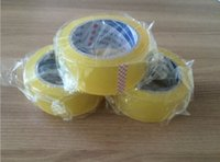 high tensile strength - packing tape Bopp tape adhesive tape box tape duct tape transparent yellow Excellent Clarity Tensile Strength high viscosity Support cust