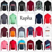 Wholesale 2016 Winter Rapha Cycling Jerseys Colors Long Sleeve Road Bike Wear Rapha Jerseys Collection Bike Tops
