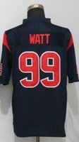 Wholesale Watt New Arrivals Mens Texans Blue Color Rush Legend Limited Stitched Jerseys Free Drop Shipping lymmia Mix order