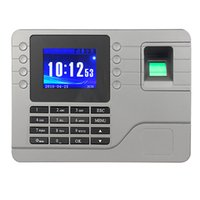 1 DIN attendance machine - Self Learning Easy To Operate Without Software Fingerprint Attendance Machine F6115H