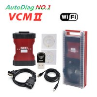 automotive plastic polish - Newest V96 VCM2 wifi function VCM II in for Ford Mazda diagnostic Interface with plastic box VCM DHL