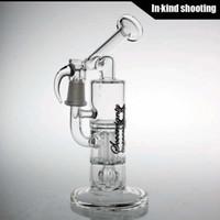 14,4mm mâle Mini Pillar Perc avec souveraineté pilar Bong en verre tuyaux d'eau bongs recycler plates-formes pétrolières dab rig bubbler pipe Sidecar rigs