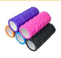 Wholesale EVA Yoga Foam Roller for Fitness Gym Exercises Physio Massage Pilates Muscles Balance Training with Floating Points