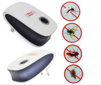 Wholesale Electronic Ultrasonic Pest Repellent Pest Control Equipment for Repels Mosquito Bed Bugs Mice Flies Cockroaches Ants Spiders