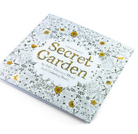Wholesale Animal Kingdom Secret Garden An Inky Treasure Hunt and Coloring Book For Children Adult Relieve Stress Graffiti Painting Drawing Book dhl
