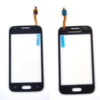 ace logo - outer front glass lens sensor panel touch screen with digitizer repair parts DUOS logo For samsung Galaxy Ace G313 G310 G313H