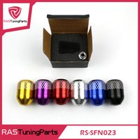 Wholesale New Style Engrave Mark K TUNED M10 x thread Billet Shift Knob Fit for All Honda Acura Models