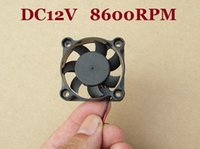 Wholesale 10 DC6 V x40x10 mm Small Brushless Cooling Cooler Fan