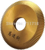 Wholesale Best Quality HSS mm x mm x mm For Locksmith BW RH AS BS Key Cutting Disc Blade For Key Cutting Machine Parts