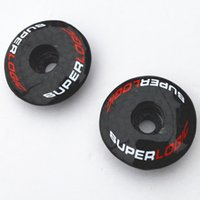 Wholesale 1pcs Full superlogic carbon fiber bicycle stem top cap washer spacer k finish bike partsweight g fit mm