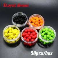 artificial box ball - 50pcs box smell Pop ups Carp Fishing bait Boilies Flavors mm Floating ball beads feeder Artificial Carp baits lure hair rig