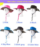 big red variety - The new variety of colors sun hat big hat along the border color outdoor adventure jungle hat fishing hat summer outdoor equipment