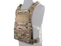 Wholesale MOLLE RRV Vest Back Panel Tactical Assault Gear Vest EMERON Airsoft Paintball Adjustable Vest EM7444E MR