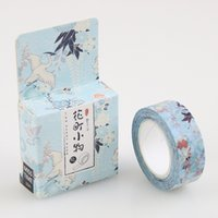 Wholesale DIY Vintage Small Things Japanese Masking Decorative Adhesive Tape School Supplies