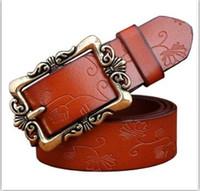Wholesale 2016 New Mens Business G Belts Luxury belt jewelry v Buckle Genuine Leather Belts For Men Waist versae Belt with original box