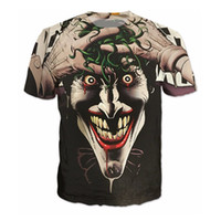 batman shirt women - Batman Joker DC Comics Superhero D Print T Shirt Women Men Summer Style T Shirt Homme Harley Quinn Carnage Joker Tees Outfits