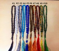 Wholesale Hot Islamic Prayer Beads Synthetic Quartz Beads Muslim Tasbih Prayer Rosary Approx mm with Colors Drop Shipping