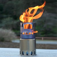backpack wood stove - Toaks Titanium Wood Burning Stove Backpack Portable Outdoor Cooking Stove Camping Picnic Firewood Stove
