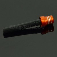 Wholesale Orange Billet Gas Fuel Cap Air Vent Hose Tube Breather For KTM EXC XC SX SXF XCF XCW