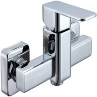 Wholesale Contemporary Single Handle Rain Shower Set New Polished Bathroom Faucet Bathroom Products