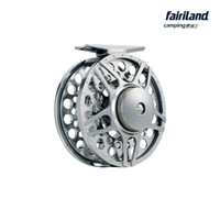 Wholesale 2BB RB mm METAL fly fishing reel LARGE ARBOR designed w INCOMING CLICK PRECISION MACHINED from BAR STOCK ALUMINUM fishing wheel