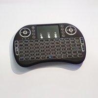 android bluetooth keypad - Rii i8 Remote Mouse Keyboard Combo Wireless GHz Touchpad Keypad For U1 KODI S905 MXQ PRO M8S WIFI Bluetooth Android OTT TV BOX DHL