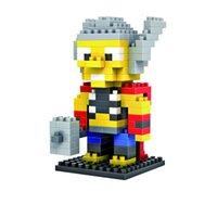 best brain toys - Thor LOZ Diamond Blocks League of Legends Model Toys Brain Games for Children Best Gifts For Kids A115