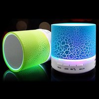 arrival wireless audio - New Arrival LED Mini Wireless Bluetooth Speaker A9 TF USB FM Portable Musical Subwoofer Loudspeakers For phone PC with Mic