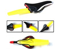 Wholesale Factory direct Ass Saver Bike Cycling Race Fender MTB Road Commuter Bicycle Saddle Mudguard Ass Rear Fender Removable Parts DHL Free