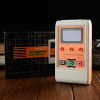 Wholesale M4070 AutoRanging LCR Meter USB PC Program LCD display Capacitance Inductance Meter Rechargeable Up to H mF