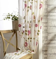 Wholesale Curtains For Children Room Boy And Girl Room Voile Curtain Living Room Home Decor Sheer Curtains