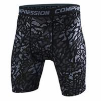 Wholesale Mens Compression Shorts Basketball Base Layer Brand Men Army Camo Shorts Running Basketball Training Gym Shorts