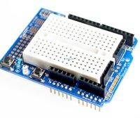 al por mayor prototipo protoshield-tarjeta de expansión mayor-UNO Proto Escudo prototipo con SYB-170 Mini tablero para Arduino UNO basado ProtoShield