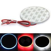 Wholesale Red LED For BMW Logo Car Decal Sticker Badge Emblem Light Lamp V Series