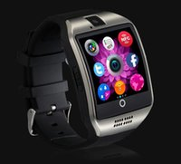 Wholesale 1 inch Q18 Smart Watch D TFT HD Arc Screen Clock With Sim Slot NFC Bluetooth V4 For IOS Android