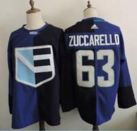 Wholesale Team Europe Zuccarello Blank Blue Olympics World Cup Hockey Ice NHL Wear Jerseys Mix Order Free Drop Ship