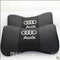 Wholesale Audi A4L A3 A1 A5 A4 A6L A8 Q3 Q5 Q7 TT leather headrest A neck pillow health care pillow