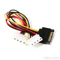 ata power - Dual Pin IDE Molex Female to Pin Serial ATA SATA Drive Adapter Cable Power L01555