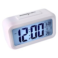 Wholesale DHL free Morning Clock low Light Sensor Technology light on Backligt When Detect Low Light soft Light That Won t Disturb the Sleep