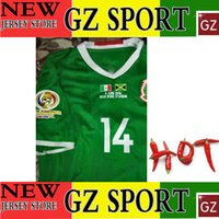 Wholesale 9 JUNE MEXICO player version jersey CHICHARITO top thai version jersey customize patches