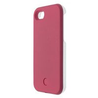 Wholesale Light Up Case for iPhone iPhone Plus LED Selfie Luminous Cover with Retail Package up