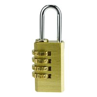 Wholesale Waterproof Stable Copper Digit Dail Combination Lock Password Padlock Code Locks for Home Fence Locker