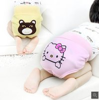baby abdomen - The new children s underwear Cotton baby care his pants Baby underwear child of tall waist abdomen pants